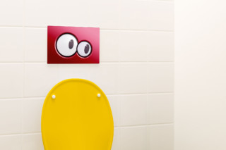Geberit Bambini flush plate  by  Geberit