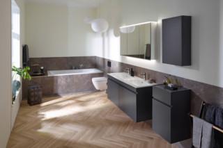 由Geberit设计的Renova und Renova Plan浴缸
