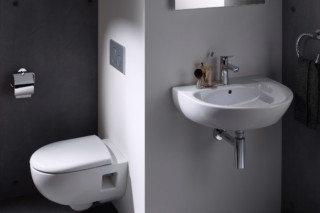 Renova hand basins and washbasins  by  Geberit