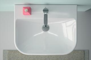 Smyle hand basin and washbasin  by  Geberit