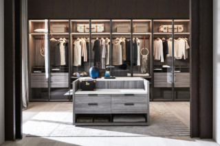 Gliss Master walk-In closet  by  Molteni&C