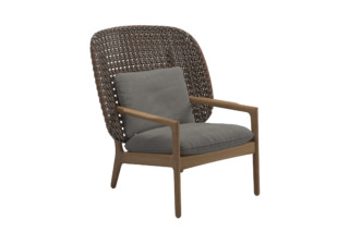 Kay high back lounge chair  by  Gloster Furniture