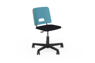 Grip NxT chair with castors and height adjustment  by  Martela