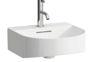 SaphirKeramik Sonar Small washbasin  by  Laufen