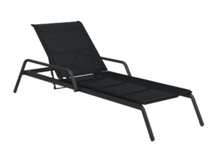 Helio adjustable lounger  by  Gloster Furniture