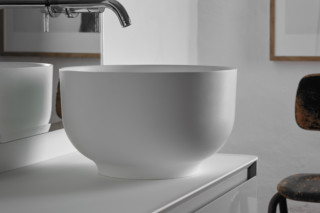 ORIGIN top mounted washbasin  by  Inbani