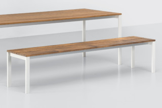be-Easy slatted bench  by  Kristalia