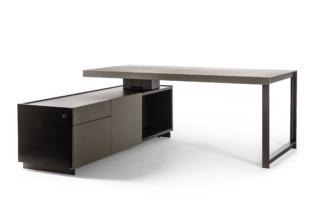 Jobs President Desk small  by  Poltrona Frau