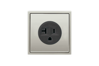 Socket US standard NEMA in stainless steel  by  JUNG