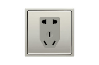 Socket Chinese Standard in stainless steel  by  JUNG