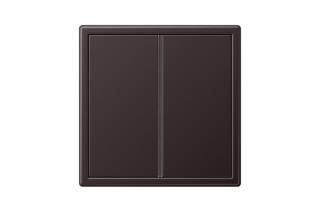 LS 990 F40 Tastsensor 2fach in dark  von  JUNG