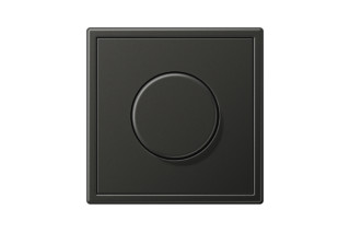 LS 990 Rotary Dimmer in anthracite  by  JUNG