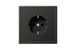 LS 990 SCHUKO-Socket in anthracite  by  JUNG