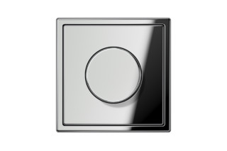 LS 990 Rotary Dimmer in chrome  by  JUNG