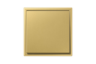 LS 990 Switch in classic brass  by  JUNG