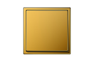 LS 990 Switch in 24 carat gold  by  JUNG