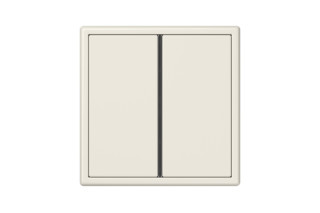 LS 990 F40 Push-button sensor 2-gang in ivory  by  JUNG