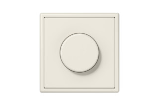LS 990 Rotary Dimmer in ivory  by  JUNG