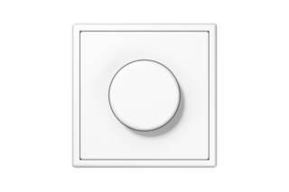 LS 990 Rotary Dimmer in white  by  JUNG