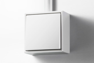 LS CUBE switch white  by  JUNG
