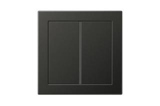 LS Design F40 Tastsensor 2fach in dark  von  JUNG