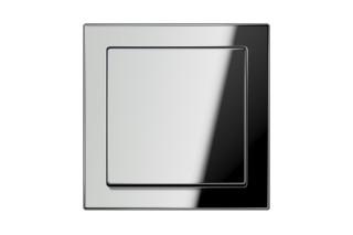 LS Design Schalter in glanzchrom  von  JUNG