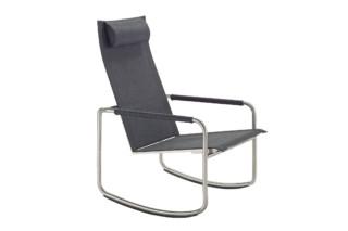 Jardin rocking deck chair  by  solpuri