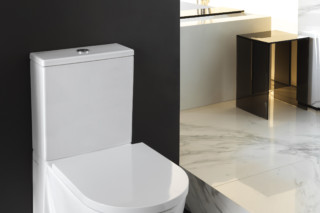 Kartell by Laufen floor standing WC combination rimless  by  Laufen