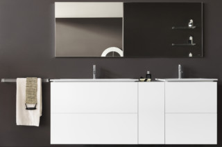 Kartell by Laufen vanity unit with two drawers  by  Laufen