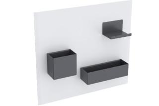 由Geberit设置的Acanto磁性板
