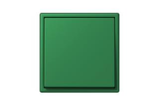 LS 990 in Les Couleurs® Le Corbusier Schalter in Das gehaltvolle Brillantgrün  von  JUNG