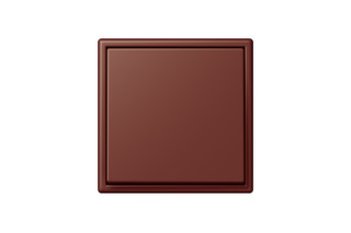 LS 990 in Les Couleurs® Le Corbusier Switch in The deeply burnt sienna  by  JUNG