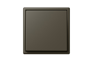 LS 990 in Les Couleurs® Le Corbusier Switch in The dark natural umber  by  JUNG