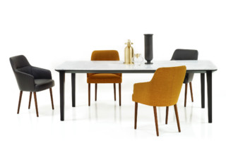 Leslie dining table  by  Wittmann