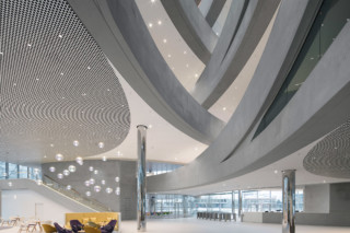 Metal ceiling LOOP®  by  durlum