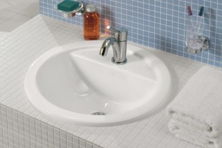 Undercounter washbasin round Loop & Friends  by  Villeroy&Boch Bath&Wellness