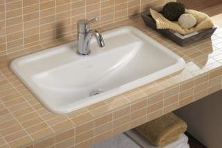 Undercounter washbasin square Loop & Friends  by  Villeroy&Boch Bath&Wellness