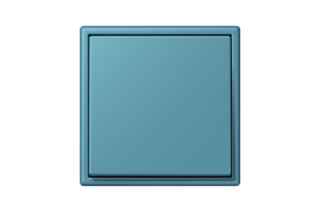 LS 990 in Les Couleurs® Le Corbusier Switch in The luminous cerulean  by  JUNG