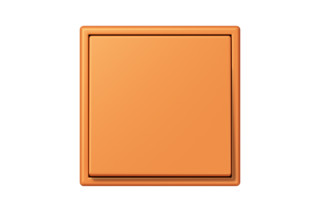 LS 990 in Les Couleurs® Le Corbusier Switch in The orange apricot  by  JUNG