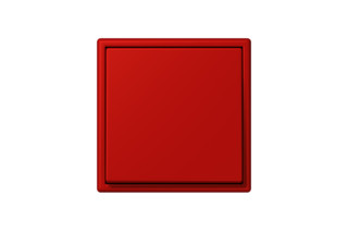 LS 990 in Les Couleurs® Le Corbusier Switch in The deep dynamic red  by  JUNG