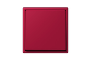 LS 990 in Les Couleurs® Le Corbusier Switch in The noble carmine red  by  JUNG