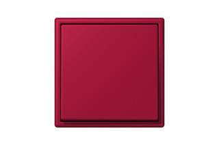 LS 990 in Les Couleurs® Le Corbusier Schalter in Das noble Karminrot  von  JUNG