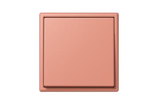 LS 990 in Les Couleurs® Le Corbusier Schalter in Das mittlere Terracotta  von  JUNG