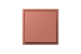 LS 990 in Les Couleurs® Le Corbusier Switch in The light brick red  by  JUNG