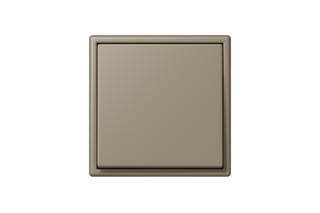 LS 990 in Les Couleurs® Le Corbusier Switch in The grey brown natural umber  by  JUNG