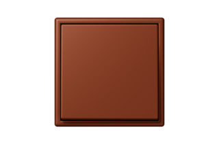LS 990 in Les Couleurs® Le Corbusier Switch in The deep brown sienna  by  JUNG