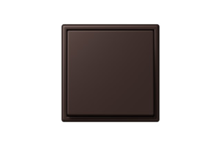 LS 990 in Les Couleurs® Le Corbusier Switch in The dark burnt umber  by  JUNG