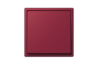 LS 990 in Les Couleurs® Le Corbusier Switch in The ruby  by  JUNG