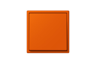 LS 990 in Les Couleurs® Le Corbusier Switch in The powerful orange  by  JUNG