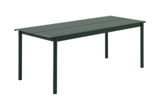 Linear Steel table  by  Muuto